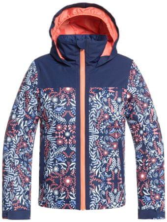 ROXY dievčenská bunda Delski 164 ružová/modrá
