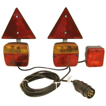 CarPoint luči prikolice, magnetne s trikotniki