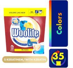Woolite COLOR Keratin gélkapszulák XL 35 db