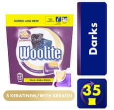 Woolite Dark Keratin gel kapsule XL, 35 komada