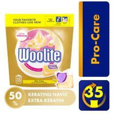 Woolite Pro-Care gel kapsule XL, 35 kosov