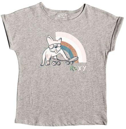 Roxy Boyfriend Tee dekliška majica, 152, siva