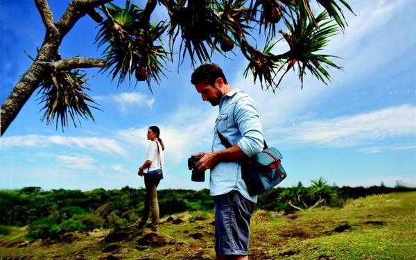 Torba za fotoaparat National Geographic AU Messenger M,dvojno zapiranje, oblazinjenje, impregnacija, vodoodpornost