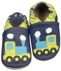 baBice dječje papuče s motivom vlaka