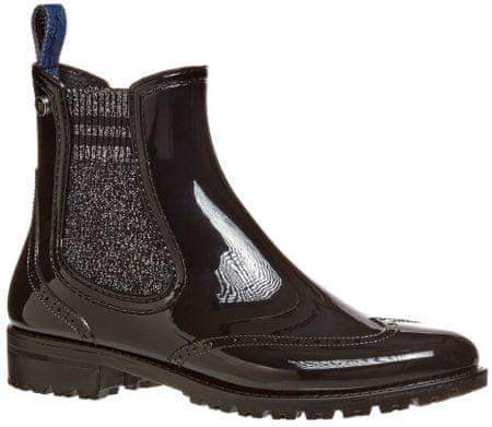 Trussardi Jeans botki damskie 79A00408-9Y099999, 36 czarne