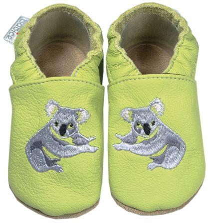 baBice gyerek papucs koalával 16.5 sárga