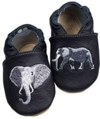 baBice kapcie dziecięce ze słoniem
