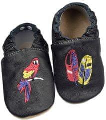 baBice dětské capáčky s papouškem