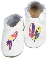 baBice dječje papuče s papagajem