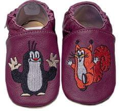 baBice dječje papuče s krticom i vjevericom