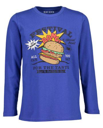 Blue Seven fiú póló nyomtatott mintával 164 kék