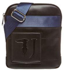 Trussardi Jeans 71B00133-9Y099997 moška crossbody torbica za čez ramena, črna