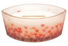 Woodwick vonná svíčka Pečený dortík, dekor Sweetheart 453 g