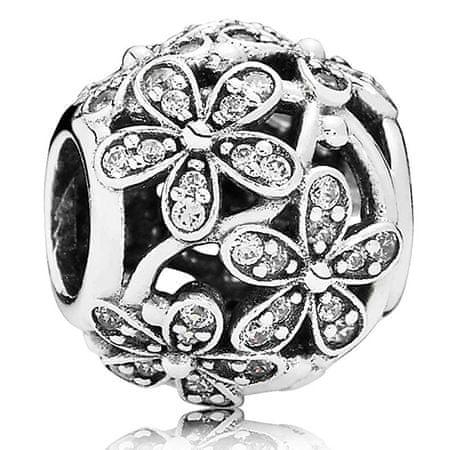 Pandora Kwiatowy koralik 791492 CZ srebro 925/1000