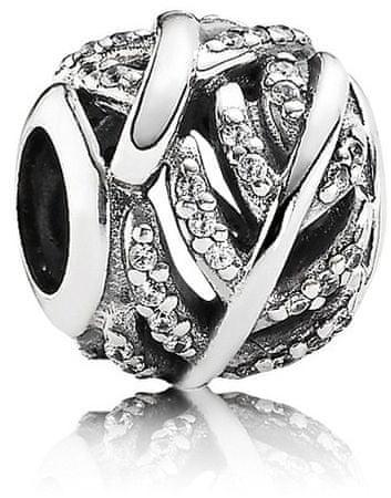 Pandora Csillogó ezüst gyöngy 791186GB ezüst 925/1000