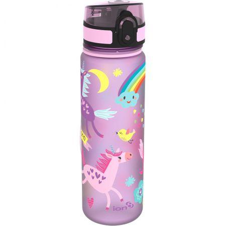 ion8 One Touch Kids Unicorns steklenica za vodo, 500 ml