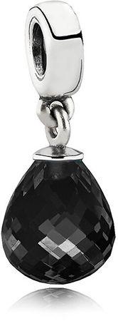 Pandora Ezüst medál csillogó kristályokkal 791602CBK ezüst 925/1000