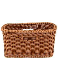 Butlers Úložný košík 34 cm - hnědá