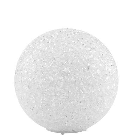 Butlers BRIGHT NIGHT LED Světlo sněhová koule 10 cm