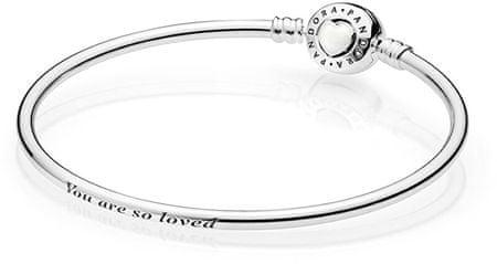 Pandora Ezüst karkötő szeretett asszonynak 590746EN23 (hossz 21 cm) ezüst 925/1000