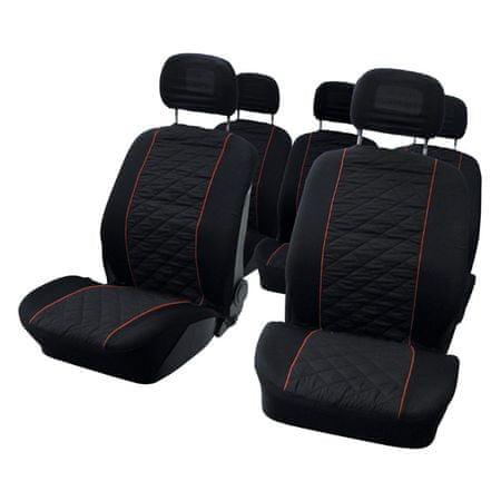 CarPoint prevleka sedeža MPV za pos. sedež, 10 kosov
