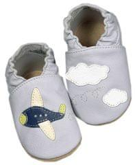baBice papuče za djecu s motivom aviona