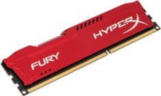 HyperX Fury Red 8GB DDR3 1866