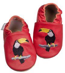 baBice papuče za djecu s tukanom