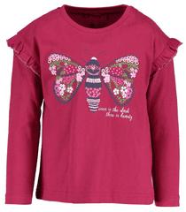 Blue Seven koszulka dziewczęca z motylem