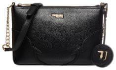 Trussardi Jeans 75B00809-9Y099999 ženska crossbody torbica, črna