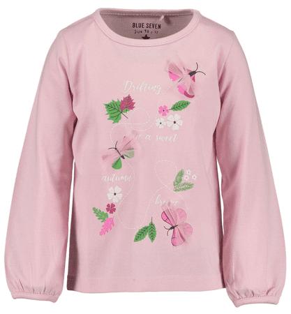 Blue Seven dívčí tričko 122 světle růžová