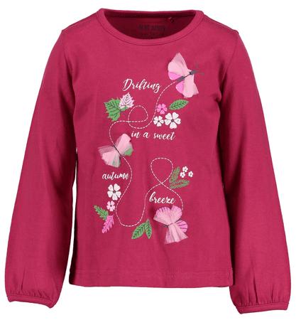 Blue Seven dívčí tričko 128 růžová