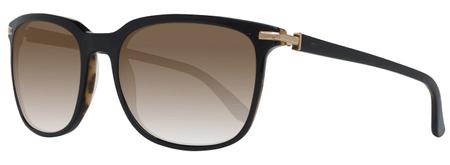 Gant unisex čierne slnečné okuliare GA7055 5505H