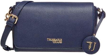 Trussardi Jeans 75B00699-9Y099999 ženska crossbody torbica, temno modra