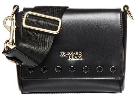 Trussardi Jeans 75B00669-9Y099997 ženska crossbody torbica, črna