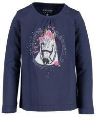 Blue Seven dekliška majica s konjem