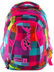 Target 2v1 Pink Backpack Rainbow šolska torba