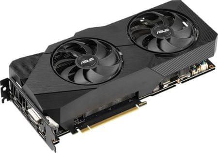 Asus DUAL OC GeForce RTX 2060 SUPER, 8 GB GDDR6 grafična kartica