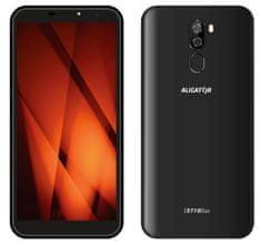 Aligator smartfon S5710, 2 GB/16 GB, Black