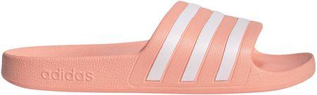 Adidas Adilette Aqua/Glopnk/Ftwwht/Glopnk ženski natikači, 36,7 - Odprta embalaža