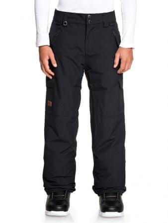 Quiksilver Porter Youth fantovske smučarske hlače, črne, 140
