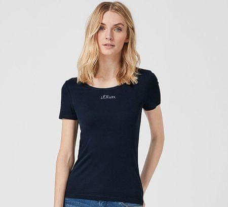 s.Oliver dámské tričko 04.899.32.5070 44 tmavě modrá