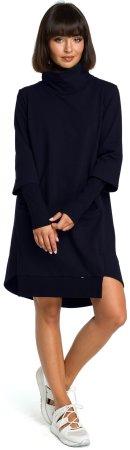 BeWear sukienka damska b089 S ciemnoniebieska