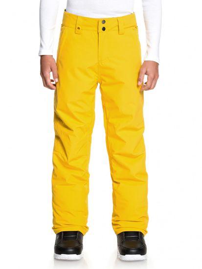 Quiksilver chlapčenské nohavice Estate Youth 170 žltá