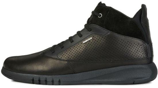 Geox pánská kotníčková obuv Aerantis U947FA 00043 43 černá