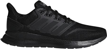 Adidas Duramo 37,3/Cblack/Cblack/Cblack ženski tekaški čevlji, 39,3