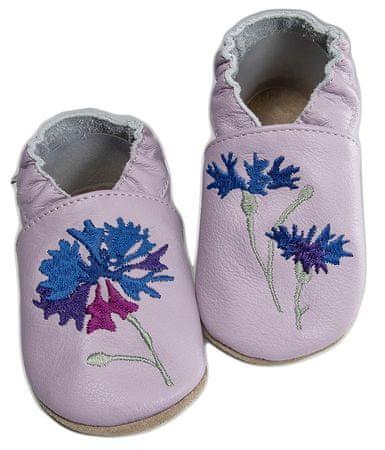 baBice lány papucs búzavirággal 16.5 lila