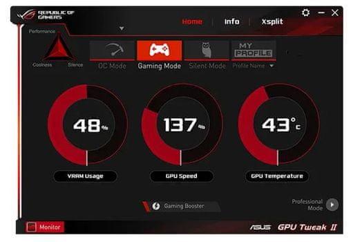 grafična kartica STRIX OC GeForce RTX 2060 SUPER