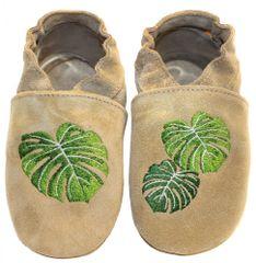 baBice detské capačky s palmovými listami