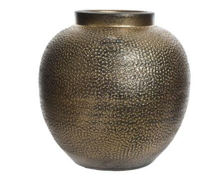 Kaemingk keramična vaza, 25x25cm, zlata